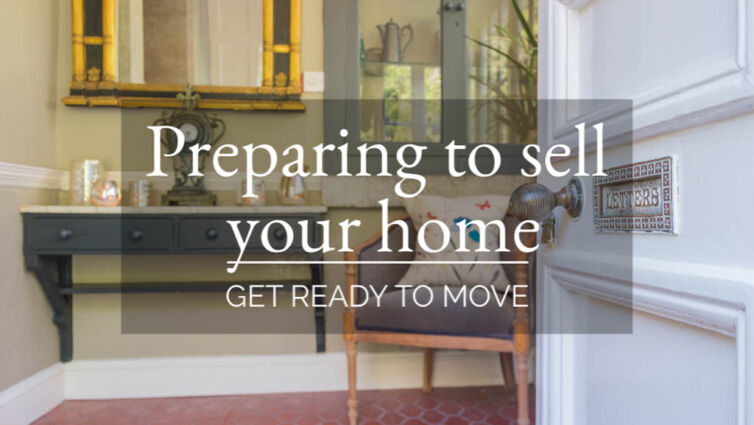 Preparing to sell your home – get ready to move
